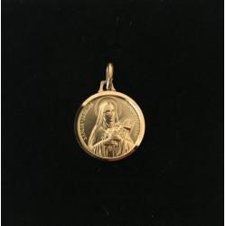 Médaille or 288G04 thérèse...