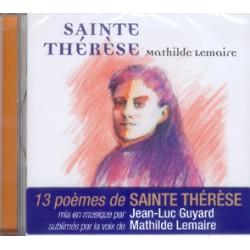 CD 13 POEMES DE STE