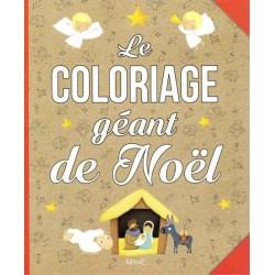 LE COLORIAGE GEANT DE NOEL