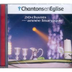 CD 20 CHANTS POUR L'ANNEE