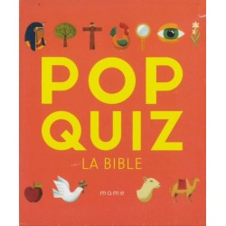POP QUIZ LA BIBLE NE