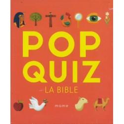 Pop quiz - la Bible